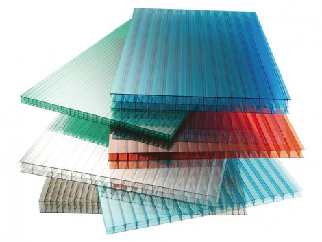 Сотовый поликарбонат: прозрачный и цветной