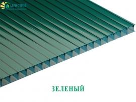 Зеленый сотовый поликарбонат
