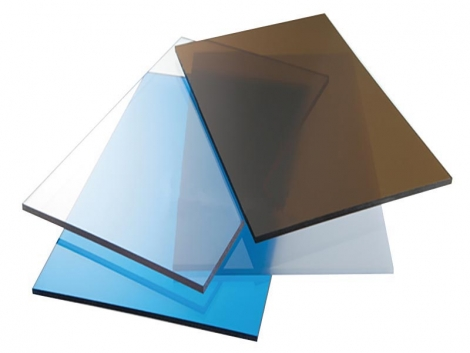 Монолитный поликарбонат: прозрачный и цветной